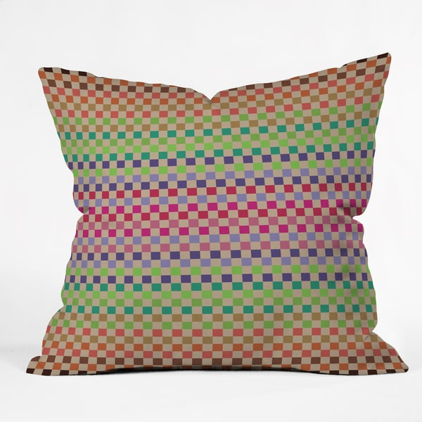 Deny Designs Juliana Curi Pattern Pixel 1 Throw Pillow