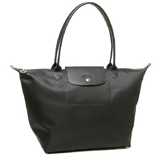 Longchamp Le Pliage Neo Black Nylon Tote Bag