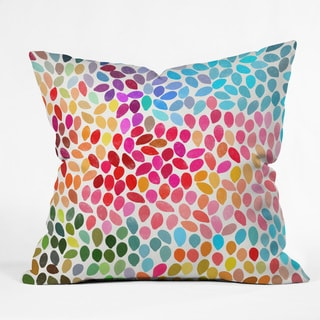 Deny Designs Garima Dhawan 'Rain 6' Polyester Throw Pillow