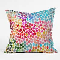 Deny Designs Garima Dhawan 'Rain 6' Polyester Throw Pillow