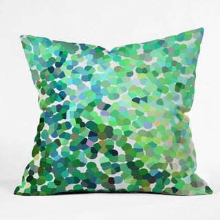 Rosie Brown Bubbles Multicolor Polyester Throw Pillow
