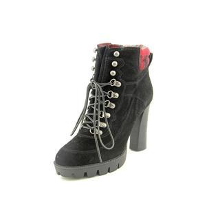 Nine West Women's 'Abrial' Regular Black Suede Boots