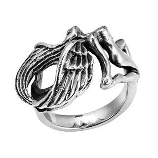 Flying Nude Angel (Virgo) .925 Silver Ring (Thailand)