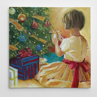 Wexford Home 'Christmas Wonder' Premium Gallery-wrapped Canvas