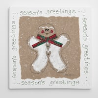 Santa Premium Gallery Wrapped Canvas