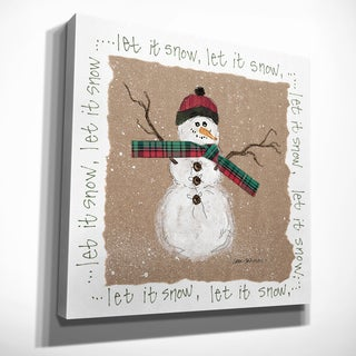 Wexford Home Eugene Tava 'Gingerbread Man' Premium Gallery Wrapped Canvas