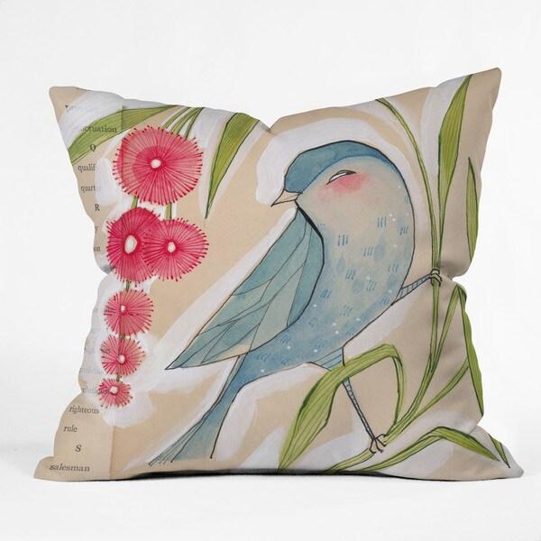 Cori Dantini Mister Multicolor Polyester Throw Pillow
