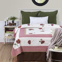 Sunflower Cotton Quilt (Shams Not Included)