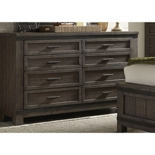 Thornwood Hills Rock Beaten Gray 8-Drawer Dresser