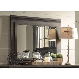Thornwood Hills Rock Beaten Gray Mirror