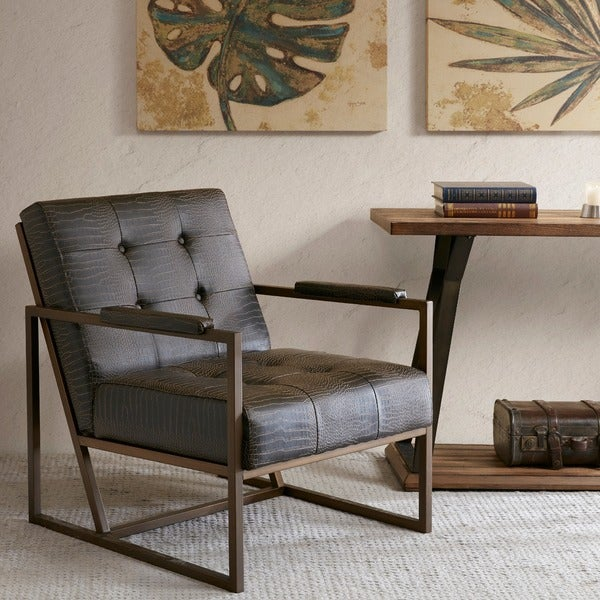 Shop Inkivy Waldorf Chocolate Lounge Chair Free Shipping Today