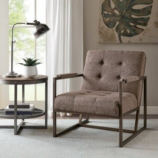 INK+IVY Waldorf Brown Lounger
