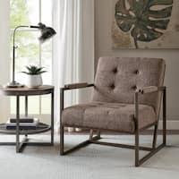 INK+IVY Waldorf Brown Lounger Chair