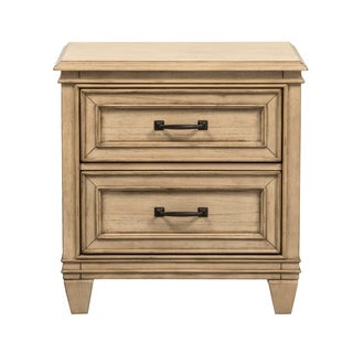 Grayton Grove Driftwood 2-Drawer Nightstand