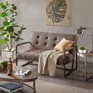 INK+IVY Waldorf Brown Settee