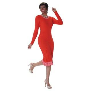 Kayla Collection Women's Ombre Knit Dress