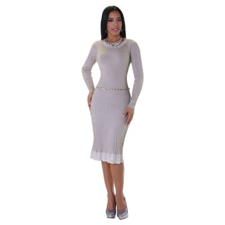 Kayla Collection Women's Ombre Knit Dress