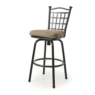 Bay Point II Autumn Rust Aluminum 26-inch Outdoor Counter HeightStool