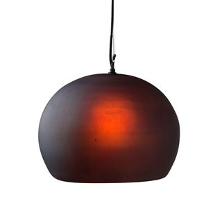 Kimball Pendant Light - Large Charcoal