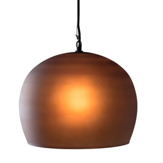 Kimball Pendant Light - Small Amber