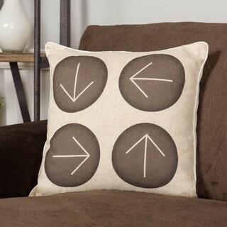 Somette Four Arrows Accent Pillow