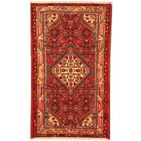 Herat Oriental Persian Hand-knotted Tribal Hamadan Wool Rug (2'5 x 4'1) - 2'5 x 4'1