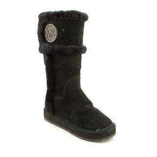 Michael Kors Women's 'Winter Tall Boot' Black Suede Boots