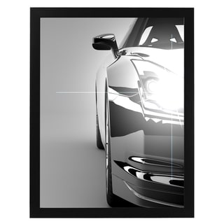 Americanflat Black Wood 22-inch x 28-inch Plexiglass Front Picture Frame