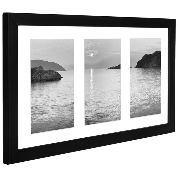 collage picture frame by americanflat for three 5 x 7 inch photos free shipping on orders over. Black Bedroom Furniture Sets. Home Design Ideas