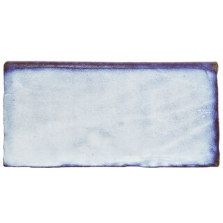 SomerTile 3x6-inch Antiguo Special Via Lactea Ceramic Bullnose Wall Trim Tile (6/Pack, 0.78 sqft.)