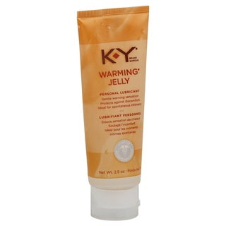 K-Y 2.5-ounce Warming Jelly (Expires 11/2016)