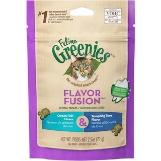 Greenies Feline Dental Treat Ocean Fish & Tuna Flavor