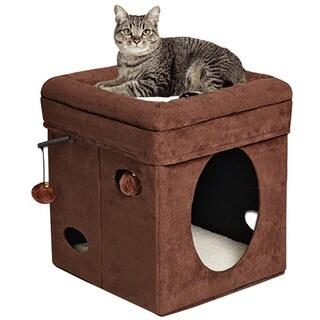 Curious Cat Hideaway Cube