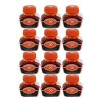 Thornton's Luxury Goods Orange 30-milliliter Fountain Pen Ink Bottle