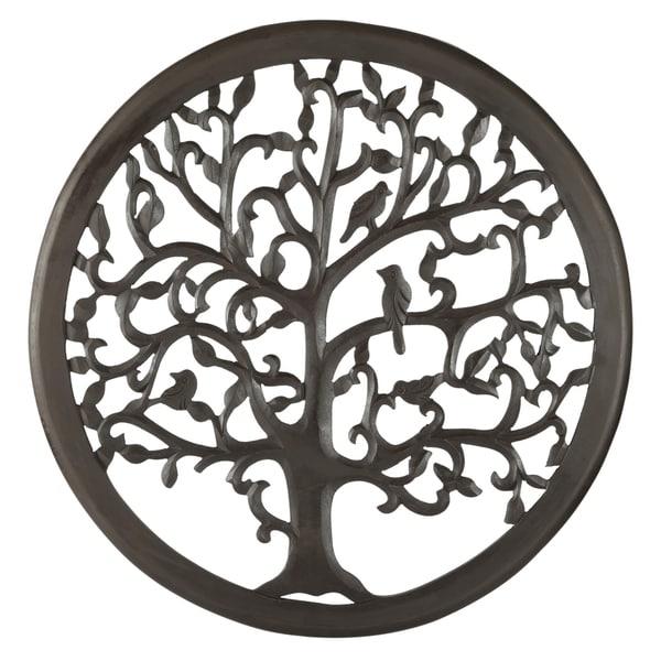 30 Dark Brown Solaris Ten Tree Of Life Wall Art