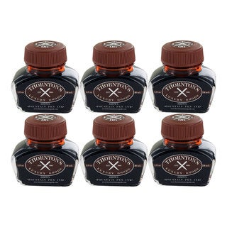 Thornton's Luxury Goods Brown 30-milliliter Fountain Pen Ink Bottle