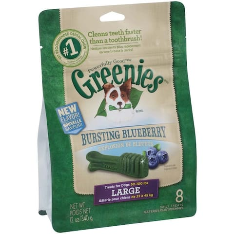 Greenies Blueberry Dog Treats