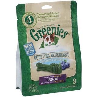 Greenies Blueberry Dog Treats