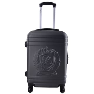 Lollipops Dark Grey ABS/Metal/Nylon 28-inch Expandable Hardside Spinner Suitcase