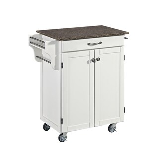 Cuisine Cart in White Finish by Home Styles