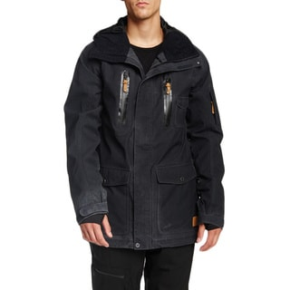 Quicksilver Men's Nylon Blend Dreamer 15K Snowboarding Jacket