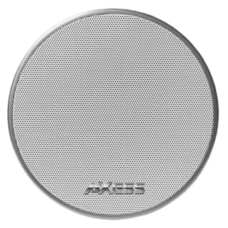 Axess SPBT1042-WT White Mono Wireless Bluetooth Cone Speaker