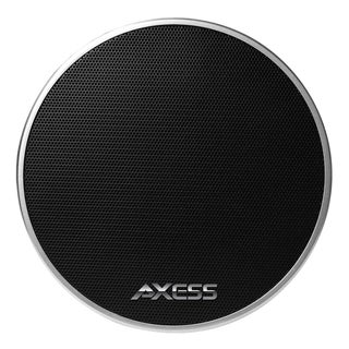 Axess Mono Black Wireless Bluetooth Cone Speaker