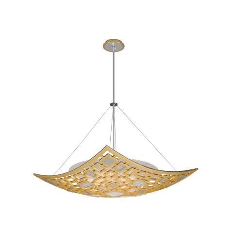 Corbett Lighting Motif 34-inch Pendant - Gold