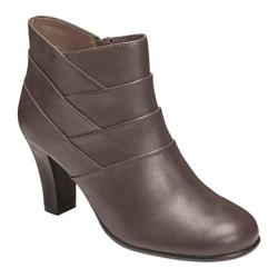 Women's A2 by Aerosoles Best Role Bootie Taupe Faux Leather