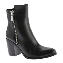 Women's Kenneth Cole New York Ingrid Ankle Boot Black Leather