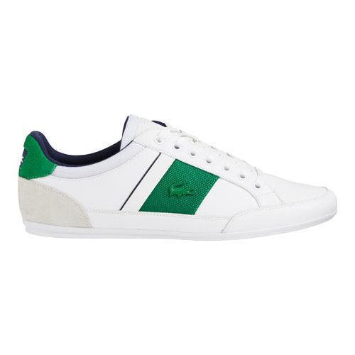 Men's Lacoste Chaymon G416 1 Sneaker White/Green Leather/Synthetic