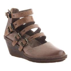 Women's OTBT Biker Wedge Pecan Leather