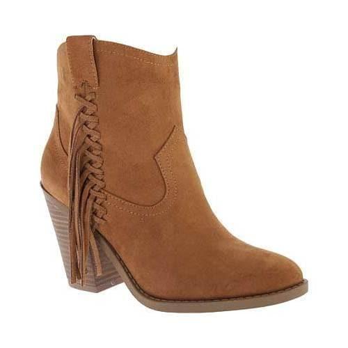 Portland Boot Company Fly Fringe Ankle Boot (Women's) Oj0Ay