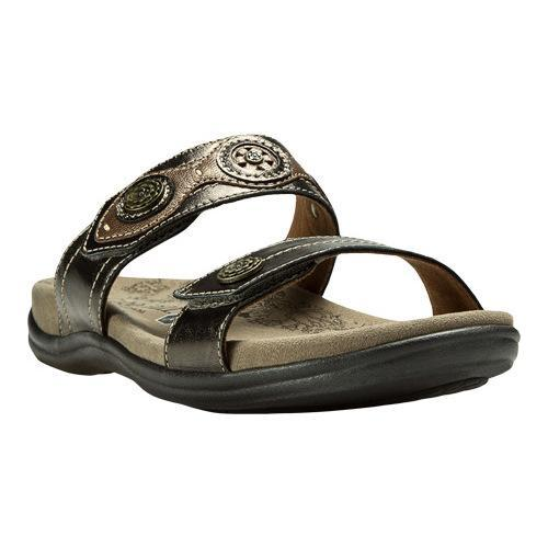 48937a29d89 Shop Women s Rockport REVswoon Slide Pewter Leather - Free Shipping ...